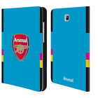 ARSENAL FC 2016/17 CREST KIT LEATHER BOOK WALLET CASE FOR SAMSUNG GALAXY TABLETS