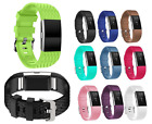 Replacement Silicone Wristband Band Bracelet Buckle Strap for Fitbit Charge 2