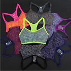 Women Fitness Yoga Sports Bra For Running Gym Padded Wire free Shake proof Under $7.0 USD