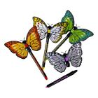 Caleb and Sophia Butterfly Pens with encouraging phrases (includes magnetic frid