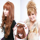 1Pcs Womens Braided Synthetic Hair Headband Plaited Elastic Hair Band Headwear