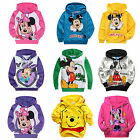 Toddler Kids Boys Girls Mickey Mouse Sweatshirt Hooded Hoodies Coat Tops Clothes