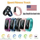 calorie monitor watch - Diggro ID115HR OLED Smart Sport Watch Heart Rate Pedometer Calorie Sleep Monitor