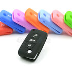 3 Buttons Silicone Case Cover Shirt For Peugeot Key 407 307 107 207 607 408 308