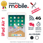 Apple iPad AIR, 16GB, 32GB, 64GB, 128GB Wi-Fi + 4G (Unlocked), 9.7""