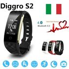 Diggro S2 Impermeabile Braccialetto di frequenza cardiaca Smart Watch for Phone