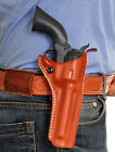 MASC LEATHER OWB PADDLE HOLSTER FOR UBERTI CATTLEMAN 1873, 45 COLT 3-1/2''Inch