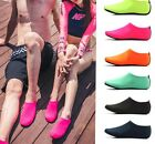 Women Men AQUA WATER SKIN SHOES Swim Beach Surf Pool Yoga Exercise Training Sock