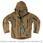 Helikon Patriot Fleece Hooded Cold Weather Coyote Army Style Special Ops Airsoft