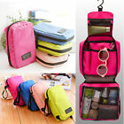Travel Cosmetic Makeup Bag Toiletry Case Wash Organizer Storage Hanging Pouch cc