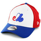 "New Era 3930 ""Team Classic Montreal Expos CO"" FlexFit Hat (Red/White/Blue) Cap"
