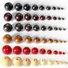Natural Wood Round Wooden Loose Crafts Beads lot 6/8/10/12/14/16/18/20/25mm