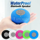Bluetooth Waterproof Music Speaker Wireless Outdoor Shower Mini Suction Portable