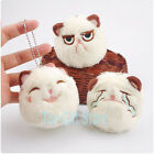 "3"" Angry Grumpy Funny Emotion Cat Keychain Plush Doll Suffed Toy for Gift"