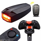 USB Alarm Remote Control For Bicycle Wireless Rear Light Cycling Anti Theft Lock