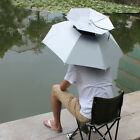 Outdoor Foldable Sun Rain Umbrella Hat Fishing Camping Headwear Cap Head Hat US