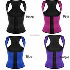Women Waist Trainer Cincher Underbust Corset Body Shaper Shapewear Latex Rubber