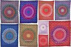 Mandala Cotton Yoga Mat Small Tapestry Poster Ethnic Indian Table Cover Wall Art