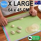 Silicone Rolling Cake Dough Mat Pastry Clay Fondant Baking Sheet X LARGE 64x45