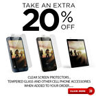 Premium Clear Screen Protectors or Tempered Glass for LG Stylo 3 Plus