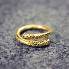 Retro Sun Wukong Gold Hoop Opening Finger Ring Jewelry Gifts Chines Myth