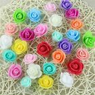 50pcs Artificial Coral Wedding Flowers Foam Rose Head For Flower Kissing Balls