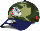 New Era Gonzaga Bulldogs League Classic Camo 39Thirty Stretch Flex Fit Hat Cap