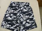 Men's Badger Camouflage Printed Shorts, Navy