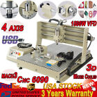 3/4 AXIS 6040 CNC Router Engraver Dilling Milling Machine 1500W 800W Spindle USB