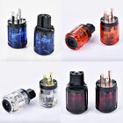 1Pair C-037 IEC Connector + P-037 US Power Plug for Audio Adapter  (4 colors)