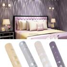 3D Modern Wall paper Wave Print for living & bedroom home decor Non-woven Homdox