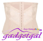 Lace Tummy Trimmer Waist Shaper Cincher Girdle Corset Body Slimmer Postnatal