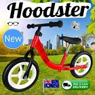 "NEW 12"" Girls Boys Children Balance Bike Red Hoodster TM Classic Strider Model 1"