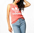 ADIDAS Originals Women Ocean Elements Stone Washed Long Tank Vest Top XS S M L