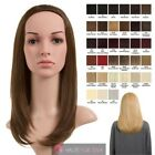 NEW LADIES STRAIGHT MEDIUM LENGTH SYNTHETIC HAIR HALF HEAD WIG 9 COLOURS ANNE