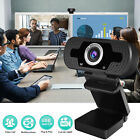 1080P Full HD Cam Webcam Fixed Focus LCD Web Camera w/Mic For PC Laptop Desktop