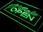 i011-g OPEN Cafe Restaurant Business Neon Light Sign