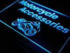 i164-b OPEN Motorcycle Accessories Display Light Sign