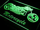 i642-g Motorcycle Bike Sales Services Neon Light Sign