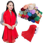 HOT women long candy colors soft cotton Scarf Wrap Shawl scarves fashion stole