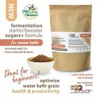 NEW! Starter/Booster Sugars for Water Kefir Grain - Increase Health/Productivity $10.90 AUD on eBay