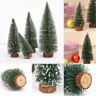 Lovely Mini Christmas Snow Tree Small Pine Tree Table Office Home Xmas Decor