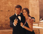 ROGER MOORE 107 WITH BARBARA BACH (007 JAMES BOND) PHOTO PRINTS OR MUGS