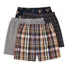 Men's Stafford 4-Pack Woven Boxers, Birds of Paradise, L, XL or 2XL, New $28