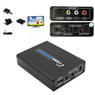 1080p Resolution HDMI to AV HD Video Converter Deluxe 5.1Gbps for TV VHS DVD cal