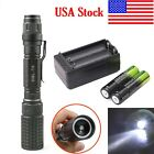 12000LM CREE XML-T6 Zoomable LED Flashlight Torch Brightness Light/BTY/Charger R
