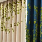 Luxury Voile Net Curtain Panel Eyelets Ring Top Panels Pleat Window Curtains MS
