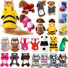 Pet Dog Clothing Jumpsuit Jacket Coat Sweater Small Puppy Cat Apparel Costume