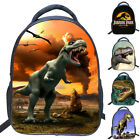 US Children Boys Girls 3D Dinosaur School Bag Backpack Kid Kindergarten Bag New