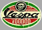 "Sticker VESPA "" VOODOO "" °"